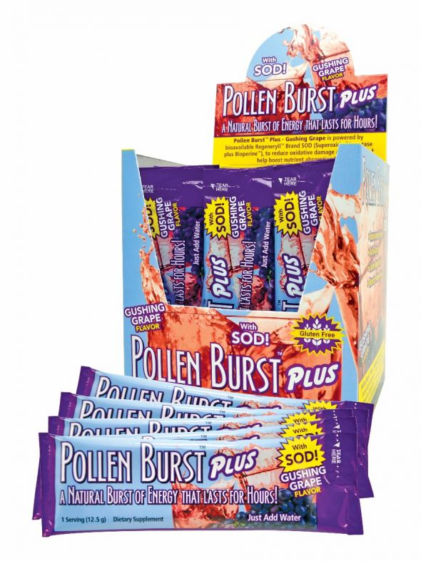 Pollen Burst Plus Gushing Grape 30Ct Box