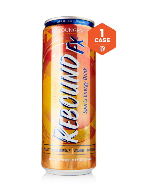 Rebound Fx™ Citrus Punch Sports Energy Drink - 1 Case (12-12 oz cans)