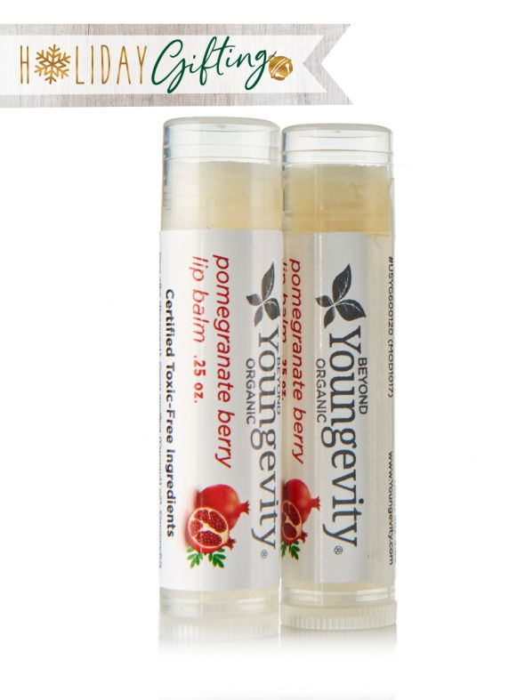 Pomegranate Lip Balm (2 Packs)